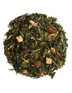 Temple night bio - mélange thé vert thé blanc