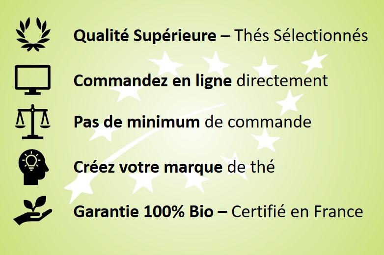 Grossiste Thé Bio - Fournisseur de Thé Bio - Obvious Tea