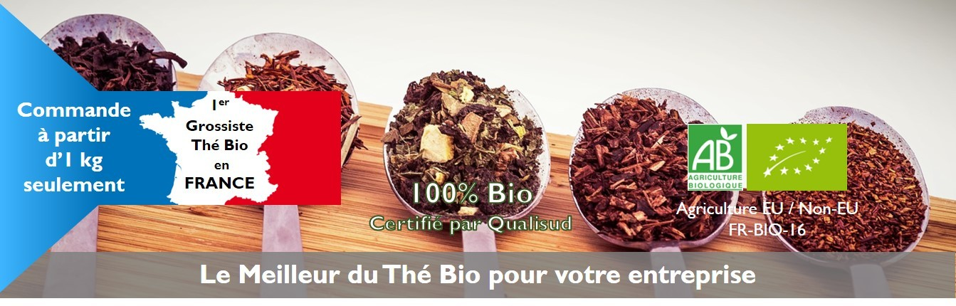 1er Grossiste Thé Bio en France - Grossiste-The.com - Obvious Tea