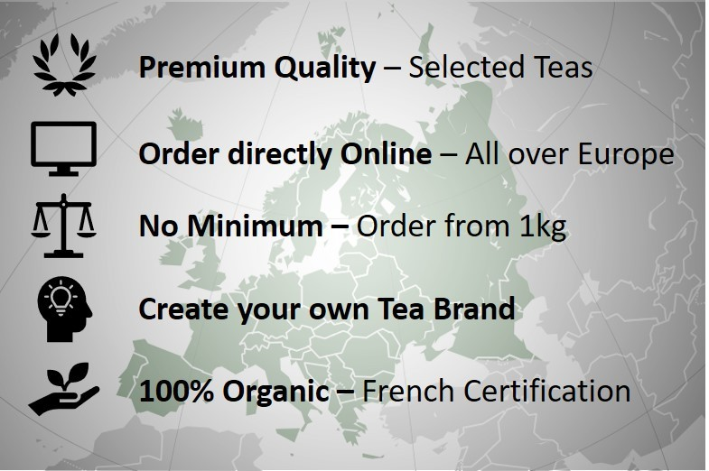 Organic Tea Supplier - The Best Organic Tea Wholesale in Europe - Bulk Organic Tea Supplier - Wholesale Tea Supplier